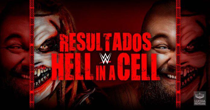 WWE Hell In A Cell en vivo resultados 06 de octubre 2019