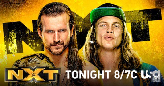 WWE NXT en vivo resultados 02 de octubre