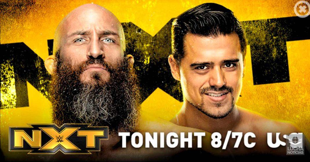 WWE NXT en vivo resultados 16 de octubre