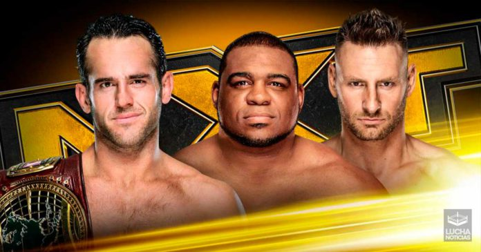 WWE NXT en vivo resultados 23 de octubre