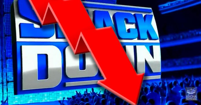 WWE Noticias bajan los ratings de SmackDown