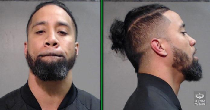 WWE Noticias video del arresto de Jimmy Uso