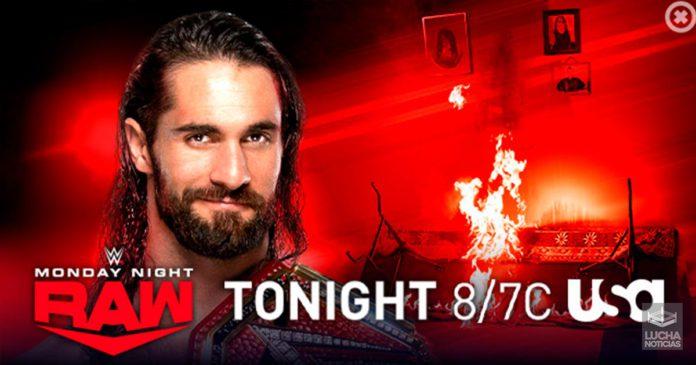 WWE RAW en vivo resultados 21 de octubre