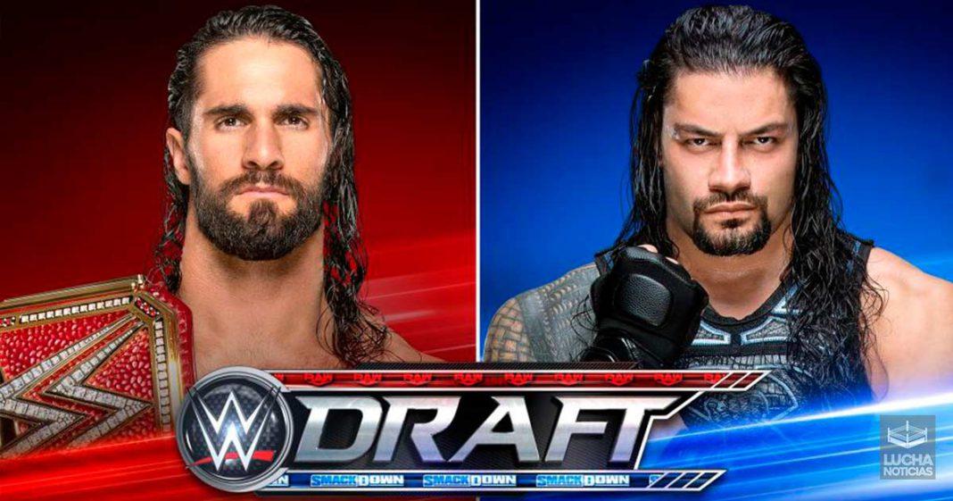 WWE SmackDown en vivo resultados 11 de octubre DRAFT