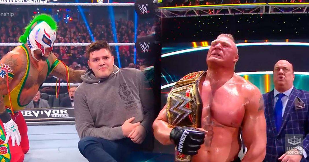 Brock Lesnar retiene el campeonato de la WWE