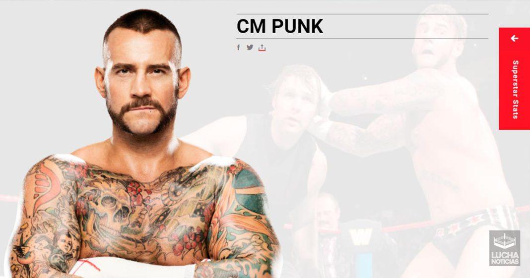CM Punk regresa a al web de WWE