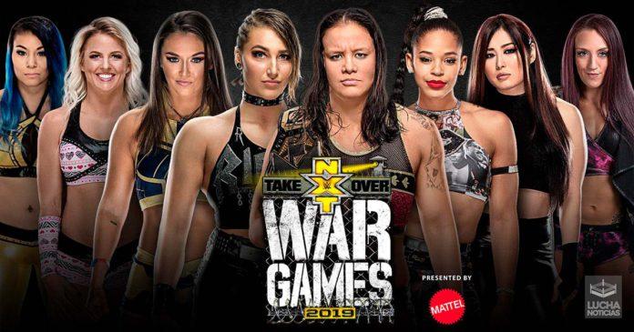 Como ver NXT TakeOver WarGames en vivo 2019