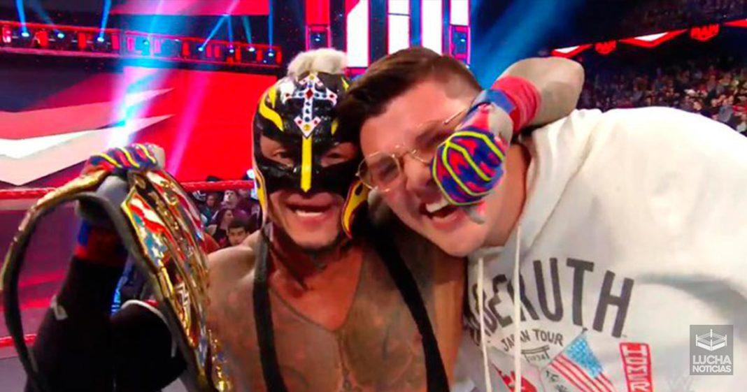 Rey Mysterio nuevo campeón de los Estados Unidos