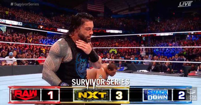 Roman Reigns le da la victoria a SmackDown