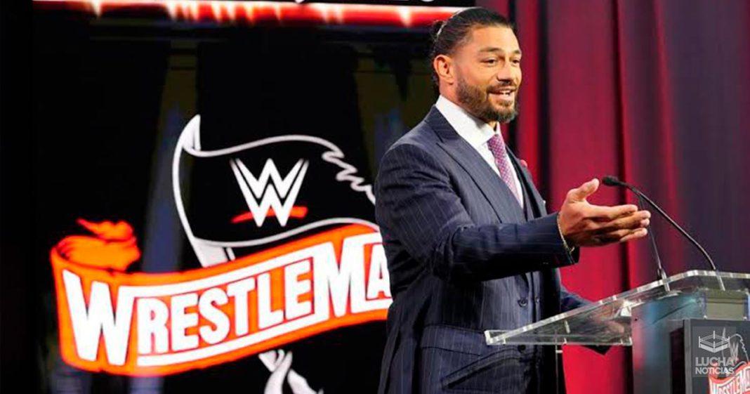 Roman Reigns y su gran empuje en WrestleMania