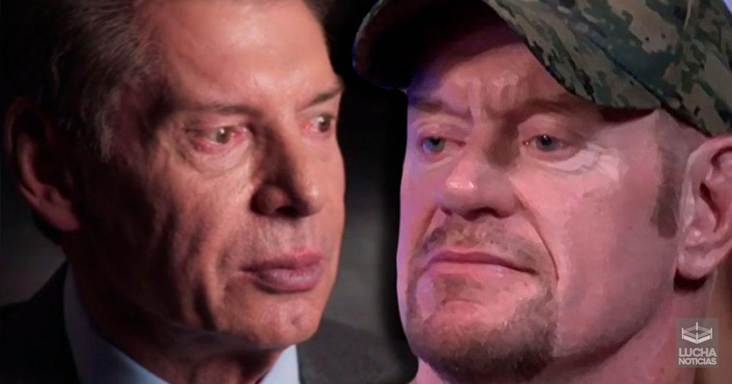 Undertaker habla sobre su amistad con Vince McMahon