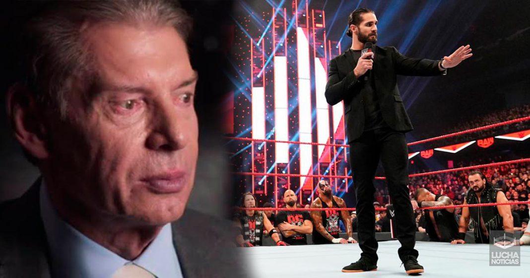 Vince McMahon enojado con Seth Rollins por hablar de CM Punk