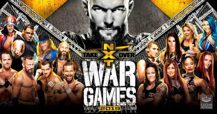 WWE NXT TakeOver WarGames resultados 23 de noviembre