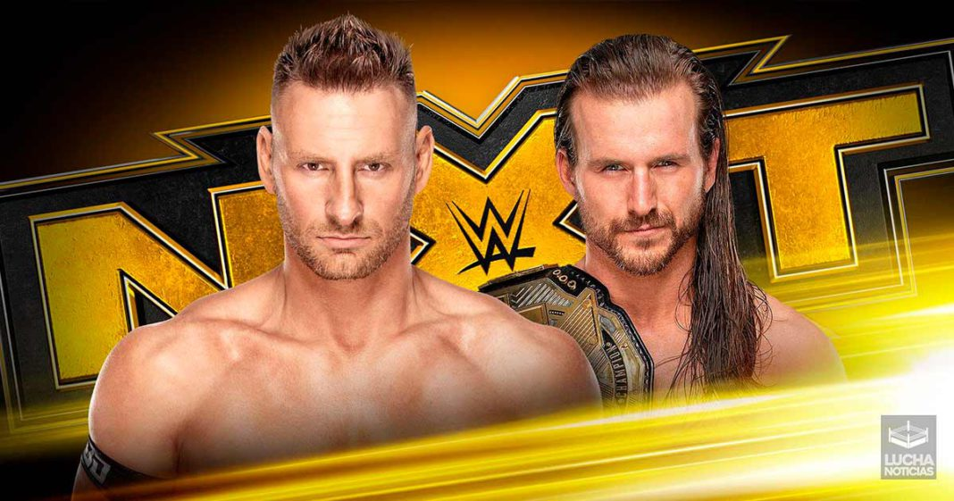 WWE NXT en vivo resultados 20 de noviembre