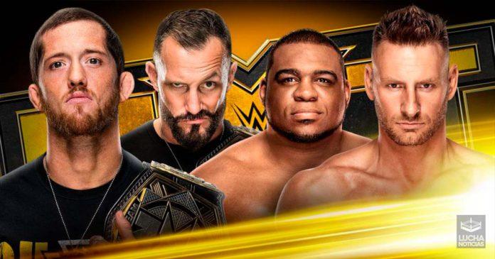 WWE NXT en vivo resultados 27 de noviembre