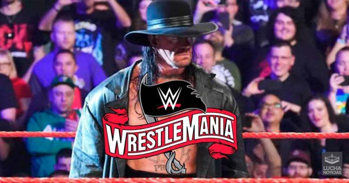 WWE Noticias lucha de Undertaker en WrestleMania cancelada