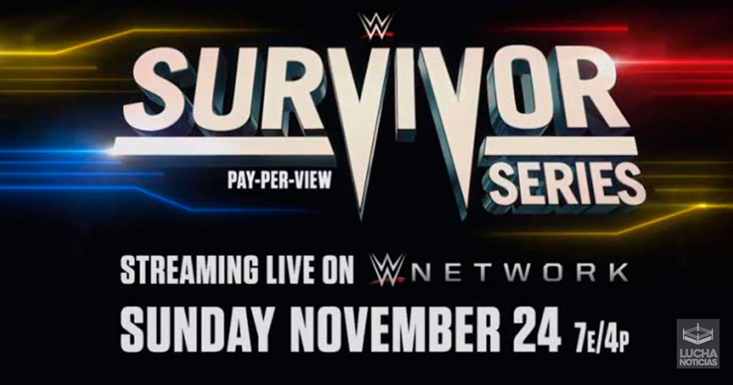 WWE Noticias sorpresa épica para Survivor Series