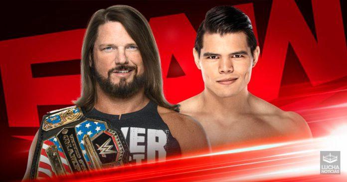 WWE RAW en vivo resultados 25 de noviembre