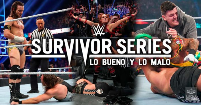 WWE Survivor Series Lo Bueno y Lo Malo del evento