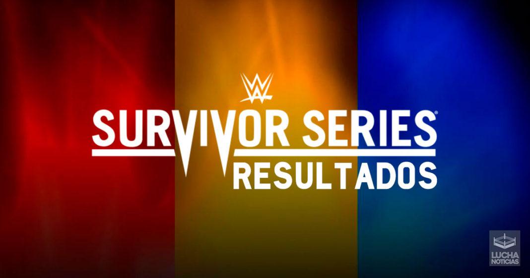 WWE Survivor Series en vivo resultados 24 de noviembre 2019