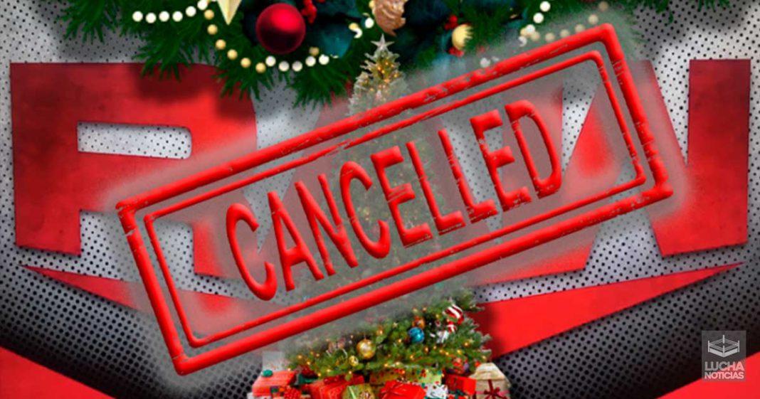 WWE cancela especial de Navidad