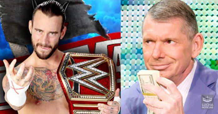 WWE ofrece a CM Punk jugos contrato de tiempo parcial