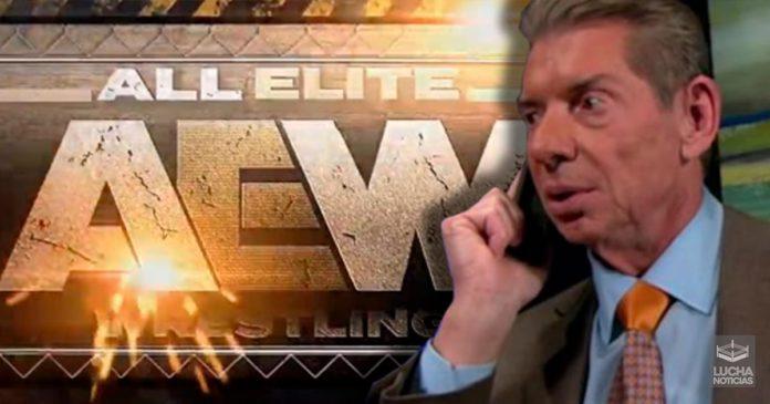 WWE piensa en demandar a AEW
