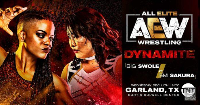 AEW Dynamite en vivo resultados 11 de diciembre