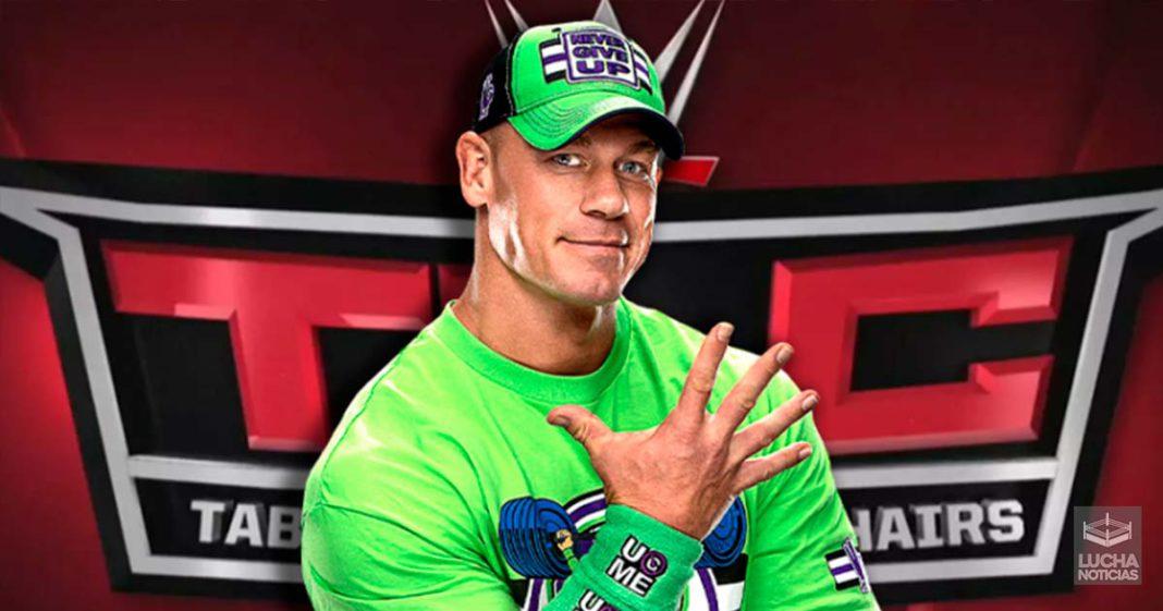 John Cena podría regresar esta noche en WWE TLC