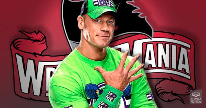 John Cena quiere un papel importante en WrestleMania 36
