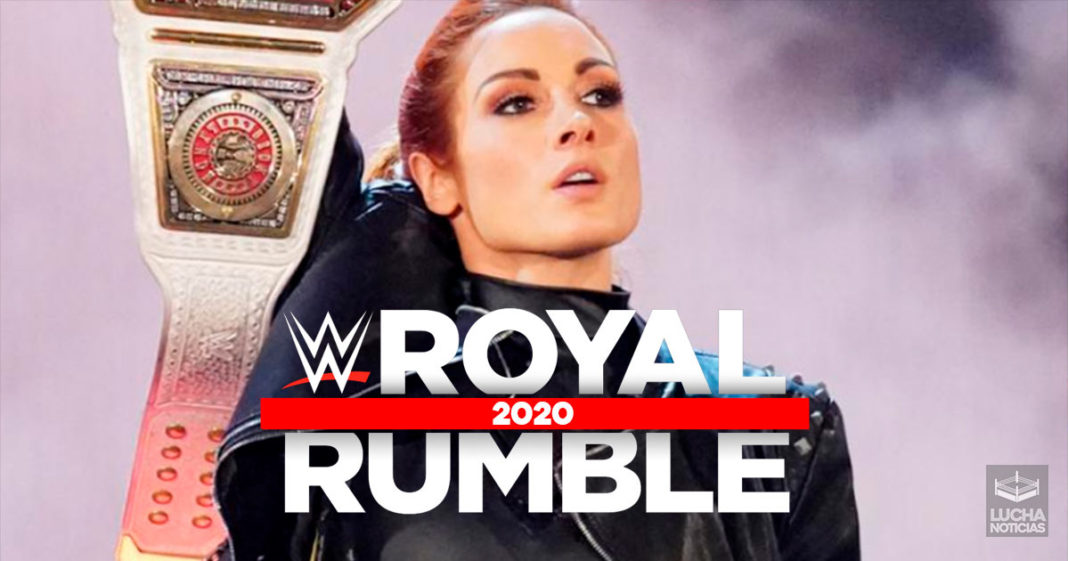 Planes hasta el momento para Becky Lynch en Royal Rumble 2020