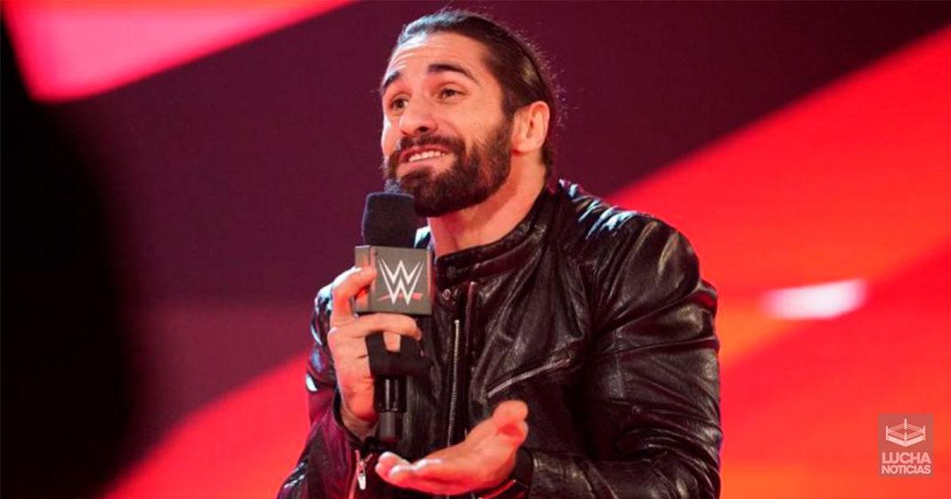 Seth Rollins lesionado y fuera de WWE TLC