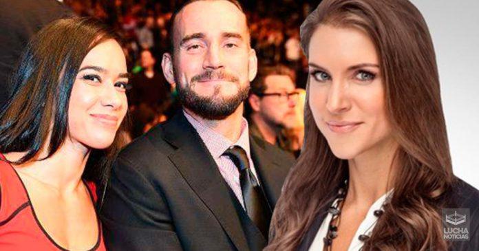 Stephanie McMahon quiere de regreso a CM Punk y AJ Lee