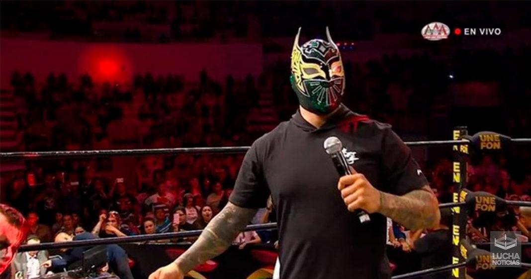 WWE no le permition usar su nombre a Sin Cara en AAA