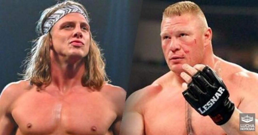 Brock Lesnar y Matt Riddle en pleito real