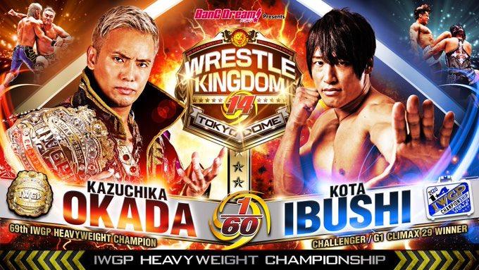 NJPW Wrestle Kingdom 14 resultados día uno