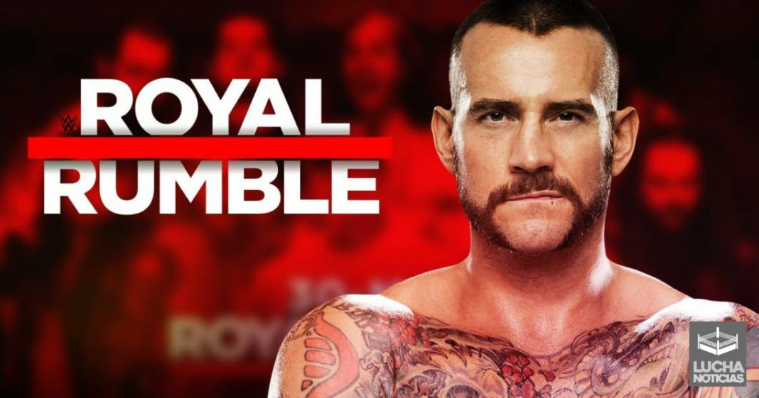 CM Punk podría participar en Royal Rumble