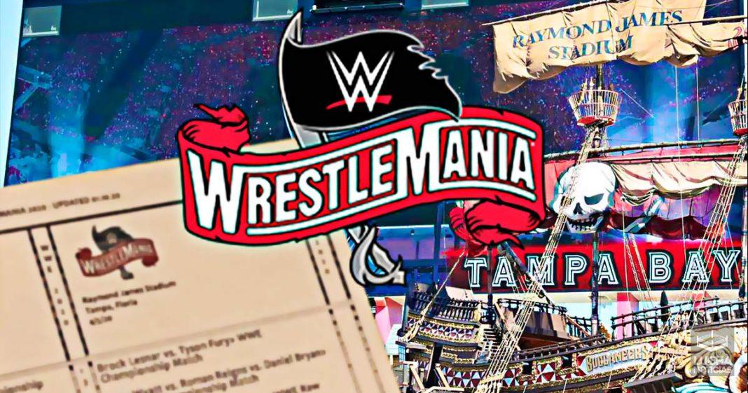 Se filtra el cartel de WrestleMania 36