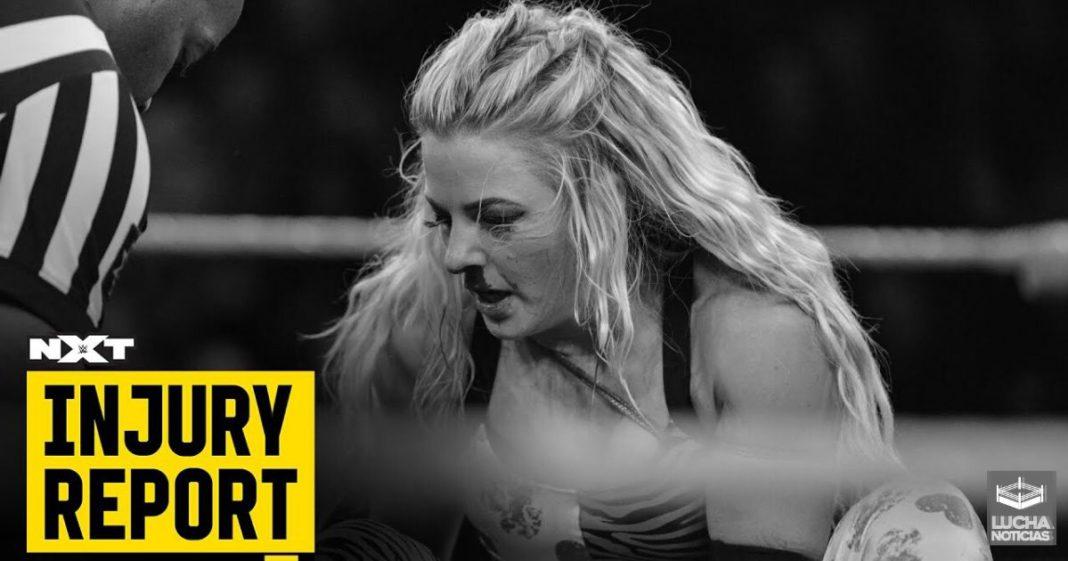 2 Superestrellas de NXT se lesionan esta semana