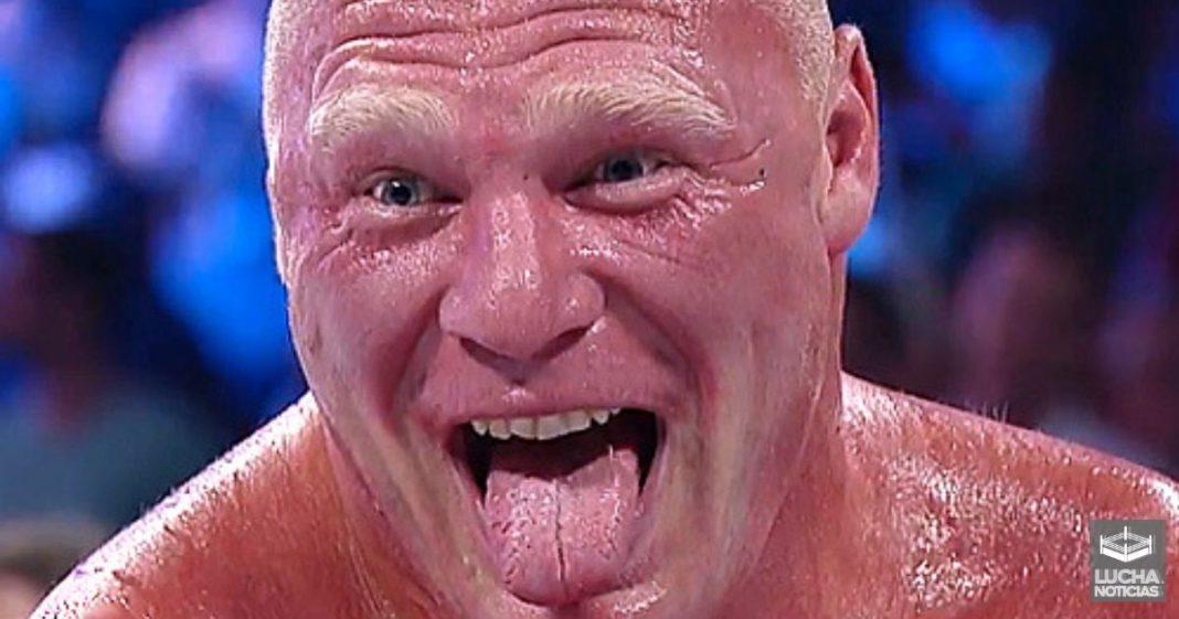 Brock Lesnar le quería dar una paliza a Matt Riddle en Royal Rumble