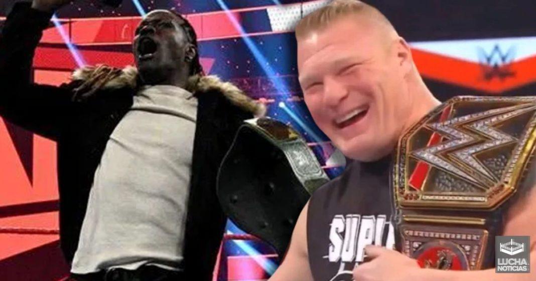 Brock Lesnar quiere trabajar con R-Truth de nuevo