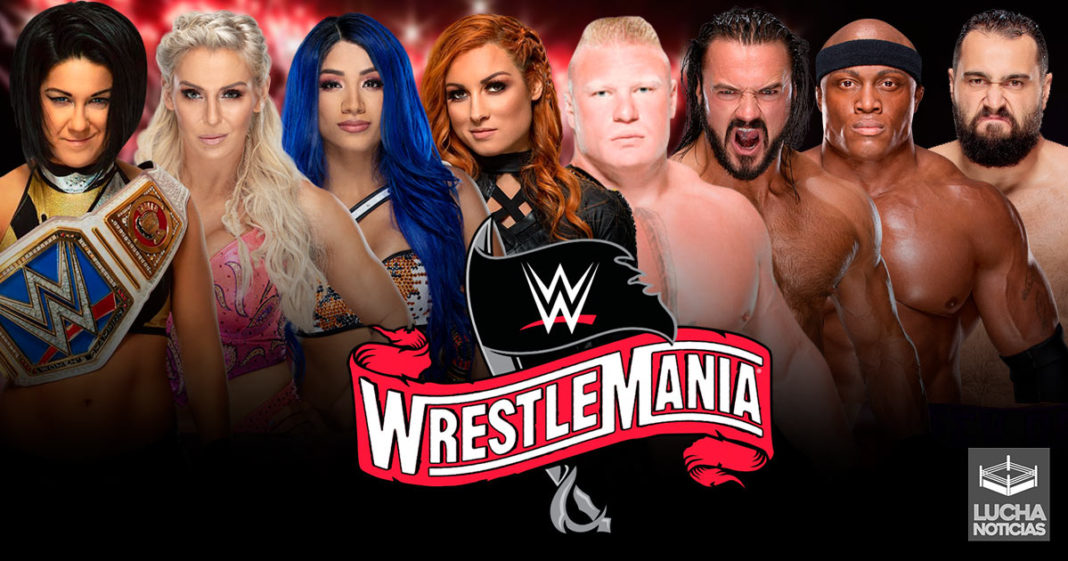 La Ruta hacia WrestleMania 36 Dos Main Events