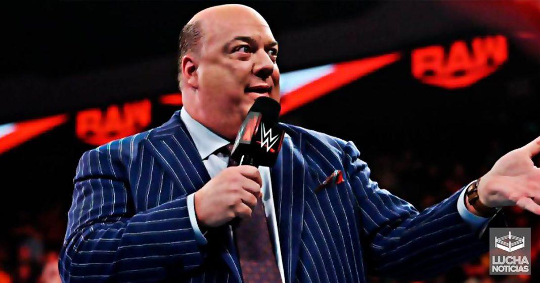 Paul Heyman hace gran cambio en RAW