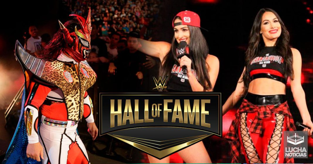 The Bella Twins y Jushin Thunder Liger al Hall Of Fame de WWE