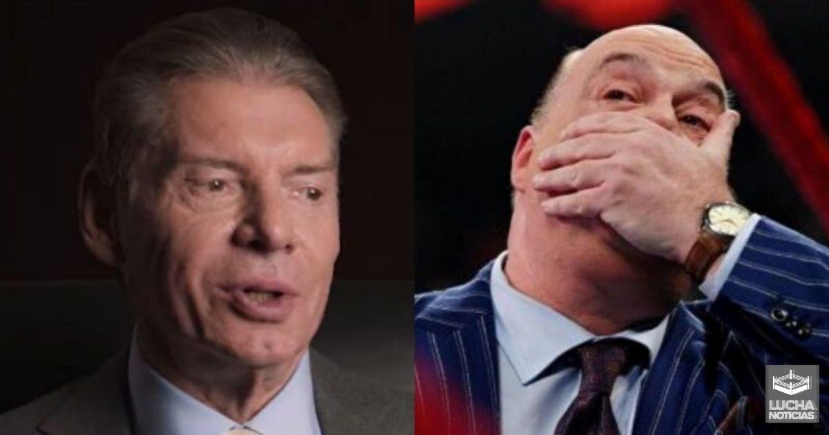 Vince McMahon no ve nada en Cedric Alexander