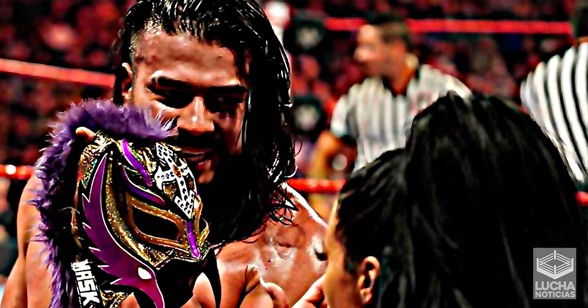 Andrade iba a retirar a Rey Mysterio en WrestleMania