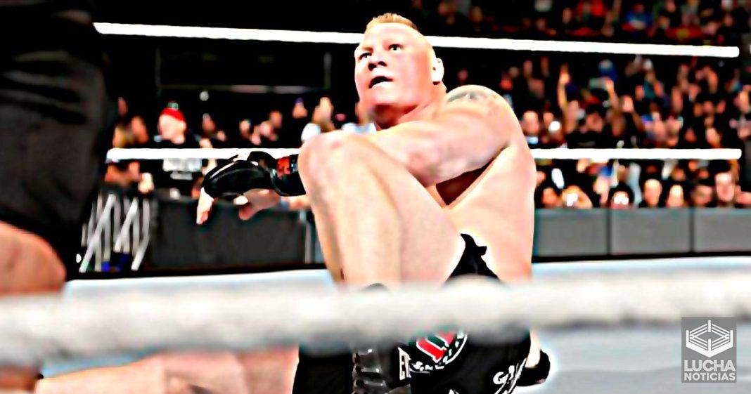 Brock Lesnar recibiría el conteo de tres en WrestleMania