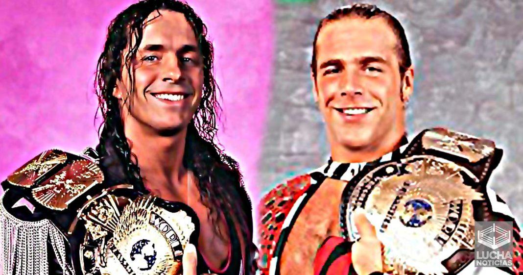 Estrella de AEW dice que Bret Hart y Shawn Michaels son los peores campeones de la WWE de todos los tiempos