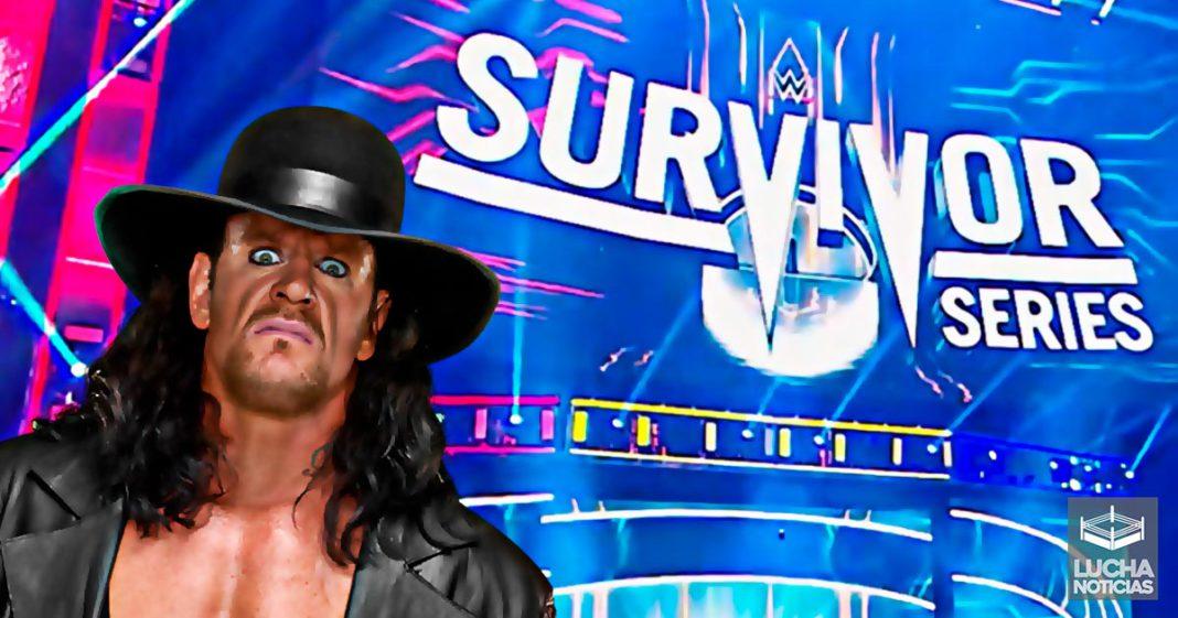 Grandes planes para Undertaker en Survivor Series 2020