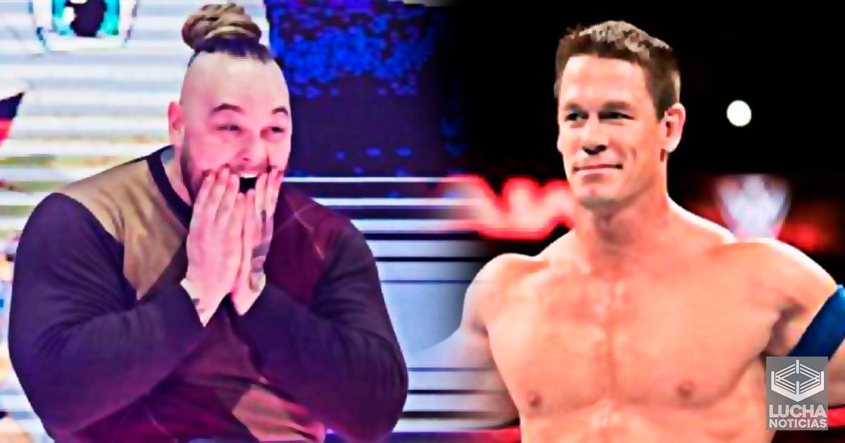 John Cena a presionado a la gerencia para ayudar a Bray Wyatt